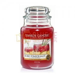 Yankee Candle BUBBLY POMEGRANATE Świeca Duża