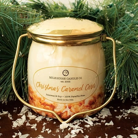 Limited Edition 16oz Wrapped Butter Jar - Christmas Caramel Corn.jpg