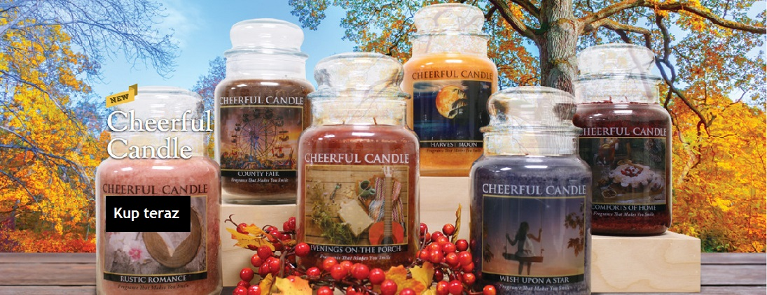 Cheeerful Candle