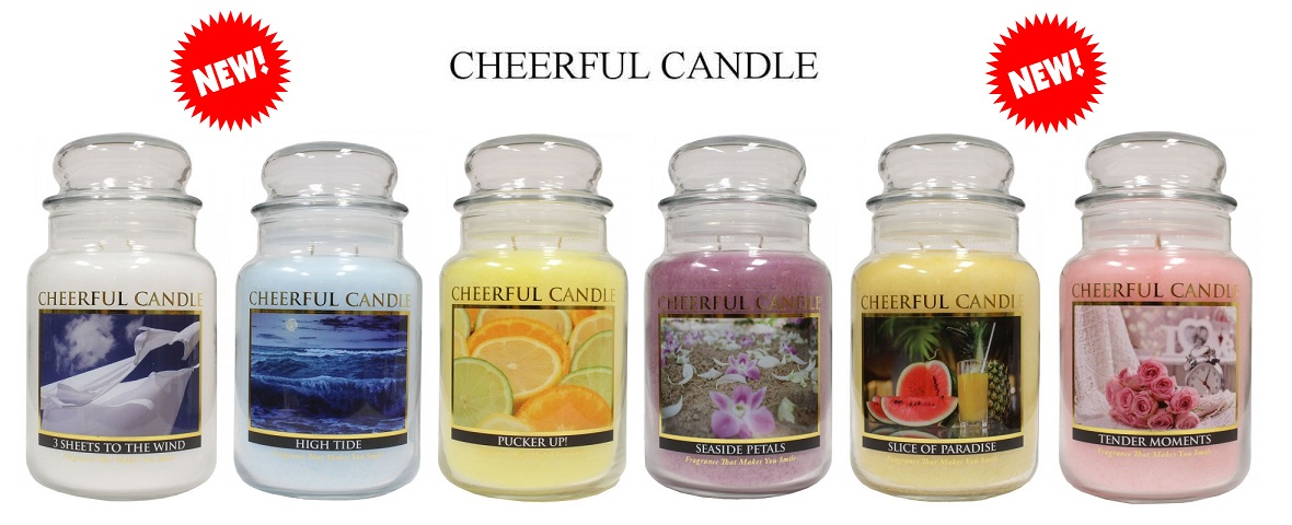 Cheerful Candle